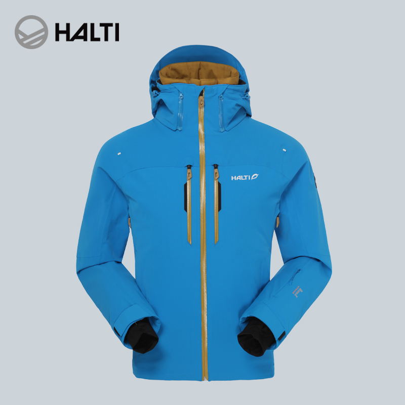 HALTI/HALDI Outdoor Couple Sports Men's Waterproof Windbreak Women's Warm Skiing Suit H059-2155