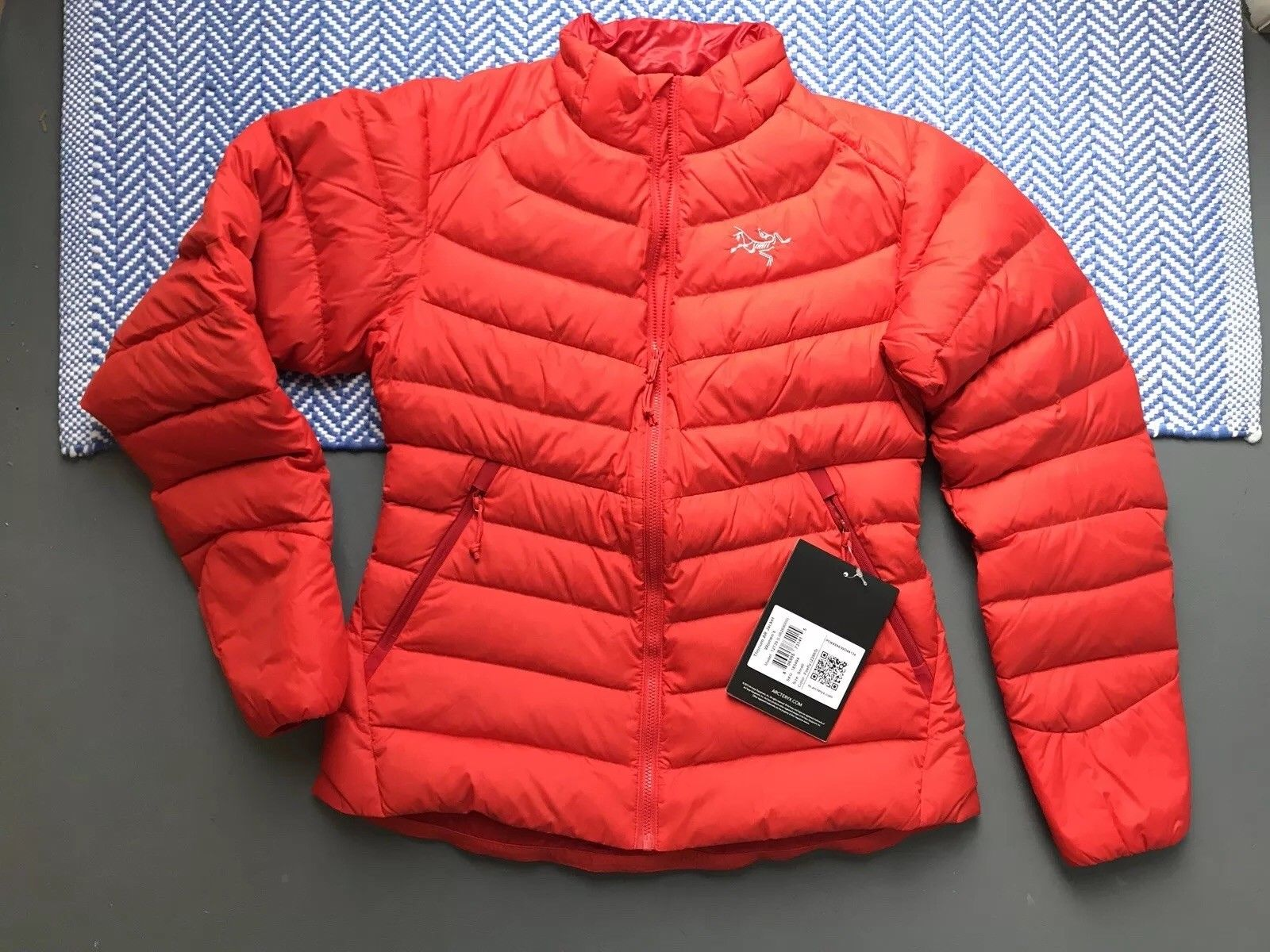 Spot Arcteryx Thorium AR Ancestral Bird Female Hatless Warm Down Garment 12739