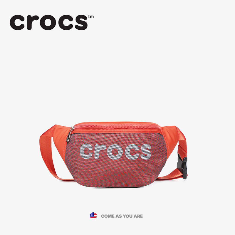 American Trendy Crocs Sports Breastband Leisure Luggage Girl Trendy ins Large Capacity Multi-functional Light Running Bag