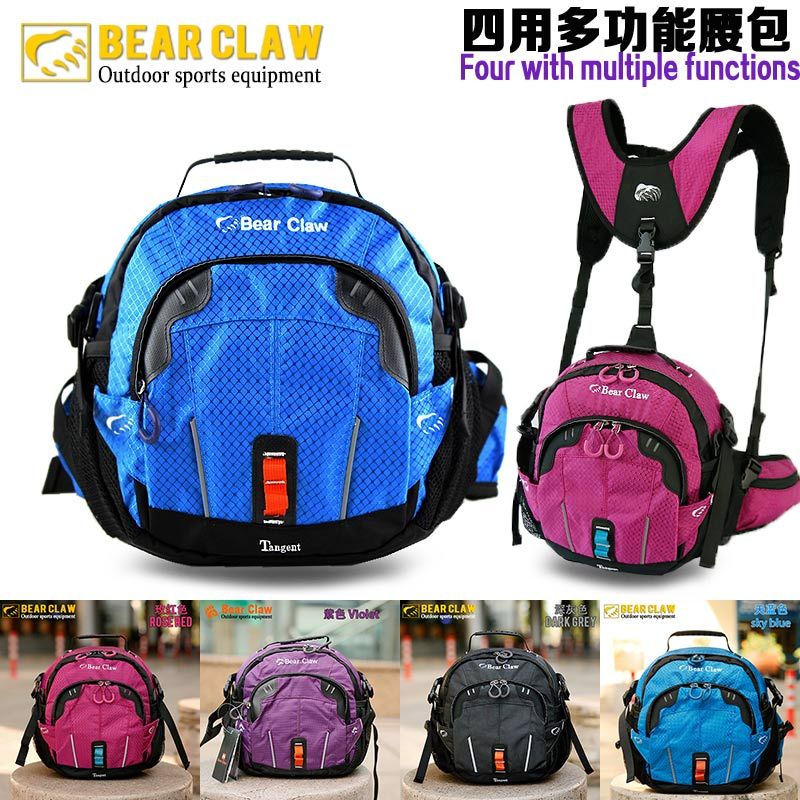 Large-capacity shoulder outdoor waistpack multi-functional women's Sports Travel Backpack Men's mountaineering water-proof one-shoulder slanting