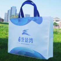 Unwoven cloth bags custom-made color film bags shopping bags custom cloth bags environmental protection advertising handbag print