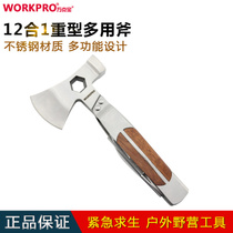 Wanke Bao multifunctional folding axe hammer safety Hammer Tool car glass broken window escape hammer