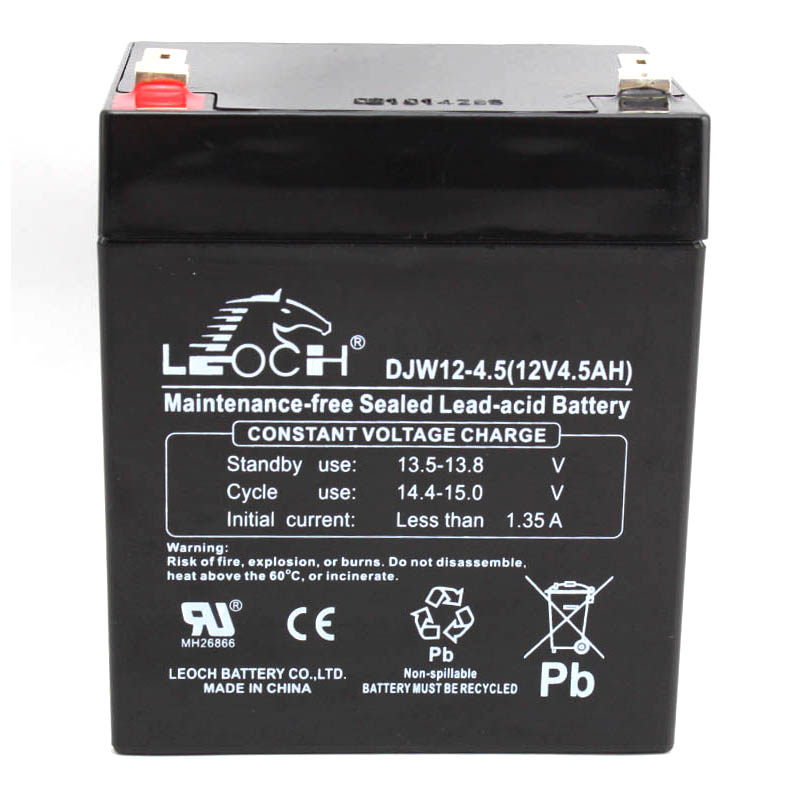 Genuine Leoch 12V5.0AH Battery DJW12-5.0 Maintenance-free battery Solar UPS