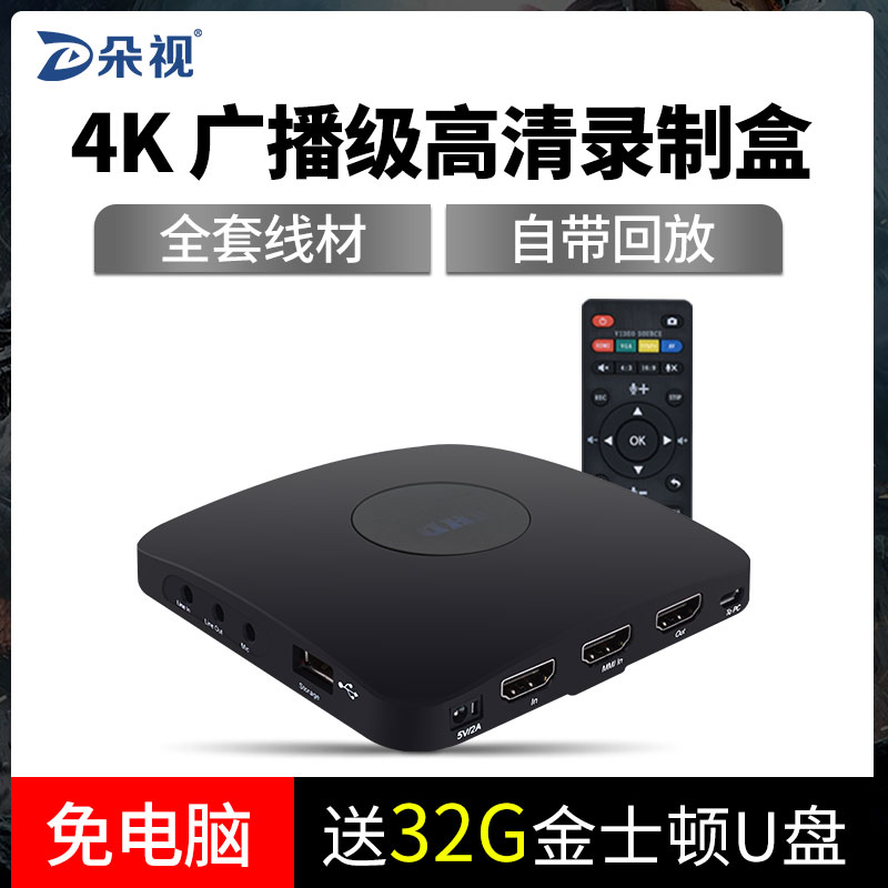 HDMI/VGA/AV High Definition Video Set Top Box Computer Conference Host Video Recorder Box Storage