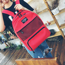 Panaike wire 2017 Korean fashion summer new backpack all-match Leisure Bag Canvas travel lovers trend