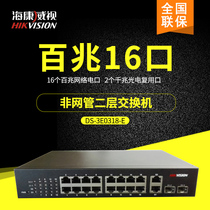 DS-3E0318-E non POE non network management two layer switch 16 gigabit network electric port