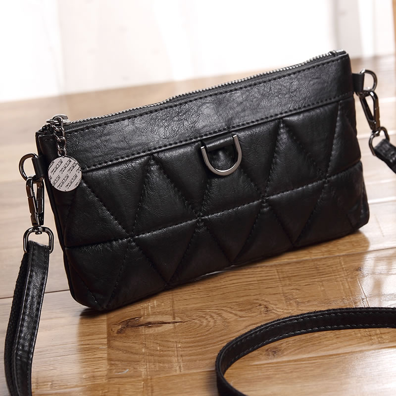 Yulin 2018 autumn new bag female simple wild Messenger bag shoulder bag fashion mini handbag small square bag