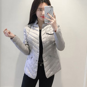 The cool winter clothes new slim slim lady solid jacket long sleeved jacket 5917