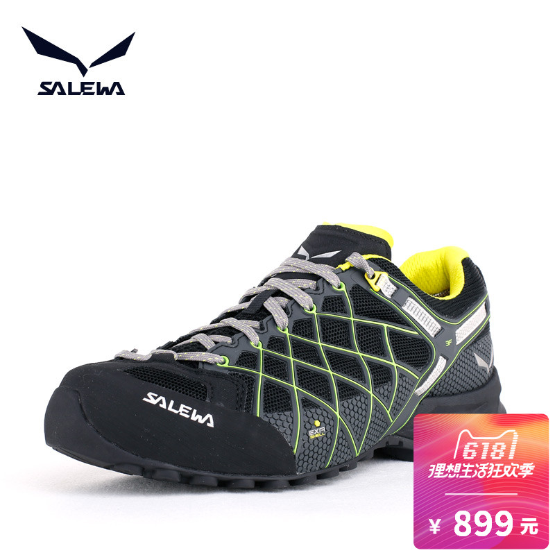 Sarawa SALEWA Classic Wildfire Multifunctional Outdoor Shoes Men's Hiking Shoes Sports Low-Up Mountaineering Shoes 63434