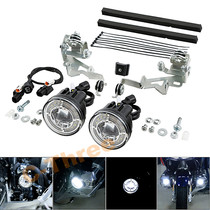 New Golden Wing 1800GL1800 Modified Motorcycle LED Fog Lamp F6B Flash Daylight Auxillary Lamp Accessories 18-21