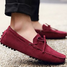 2019 Men's casual shoes women moccasin gommino lovers shoes