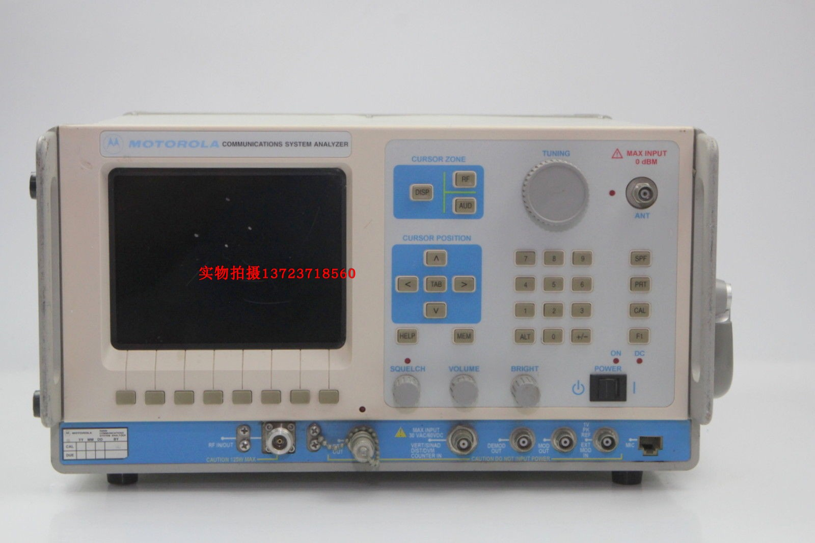 [Secondhand products]Rental / recycling MOTOROLA R2600B R2600C R2600D comprehensive tester