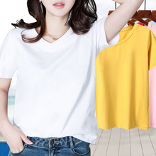 Ms. T-shirt Short Sleeve Top with Loose Bottom Bottom in the Early Autumn