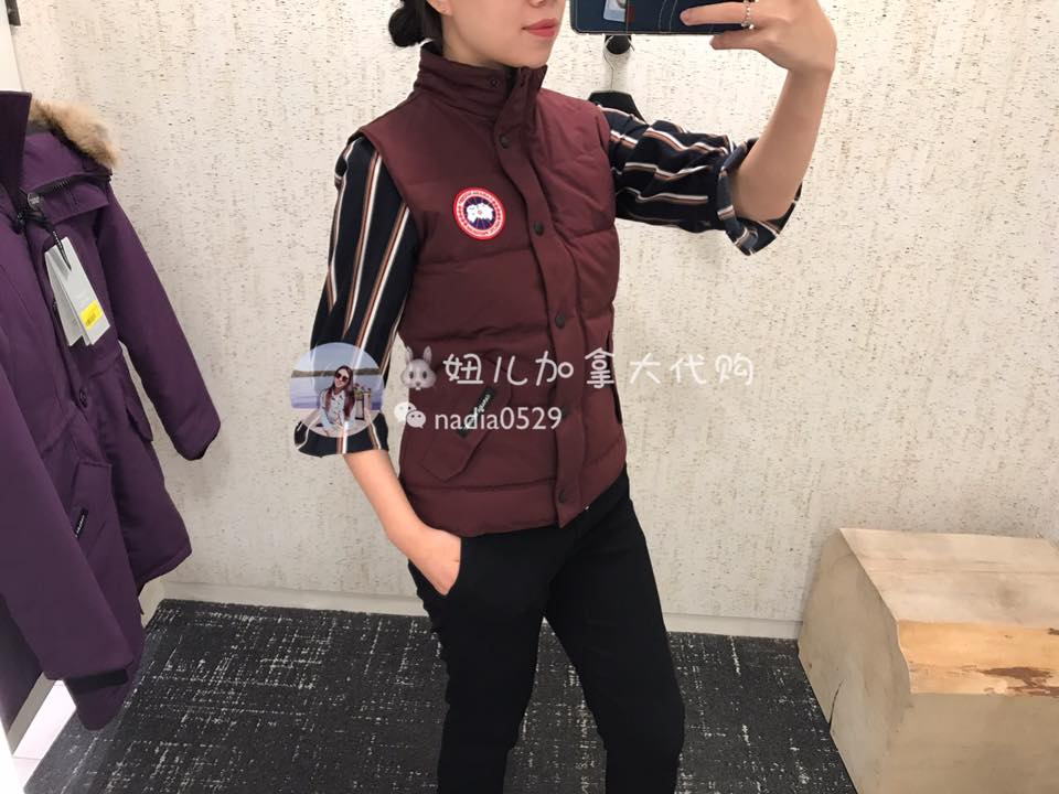 Canadian goose Canada Goose Freestyle vest shoulder
