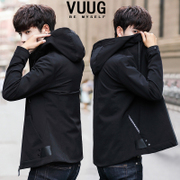The new trend of Korean men's coats fall 2017 slim handsome spring leisure menswear winter jacket