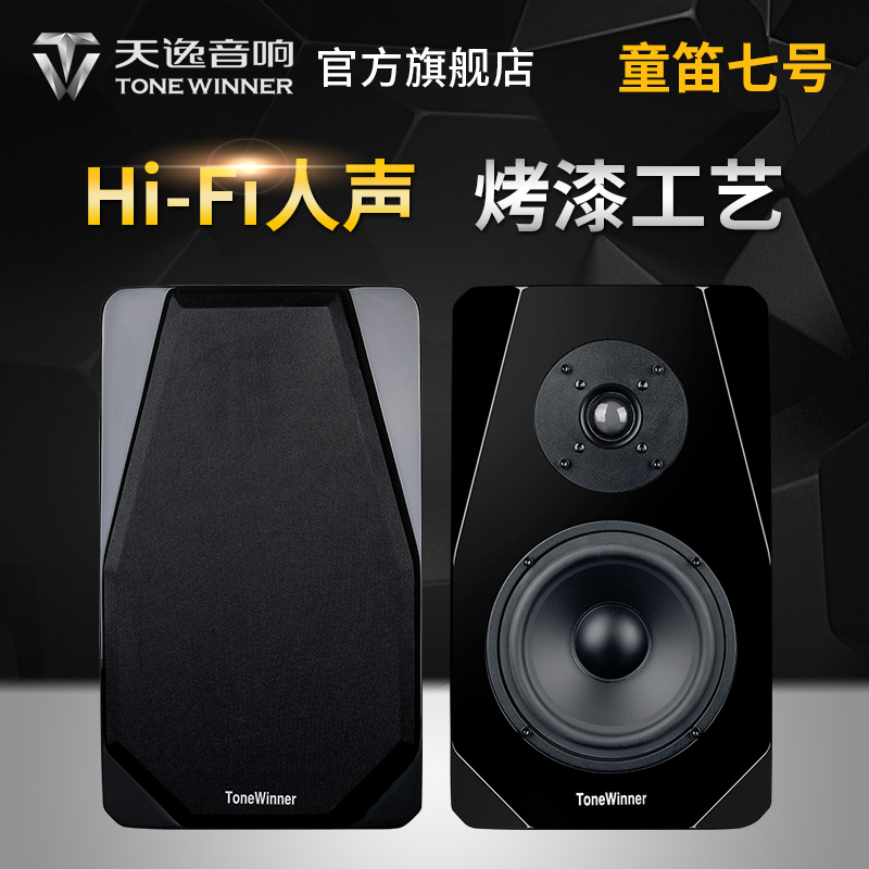 Winner/Tianyi Tongdi No.7 TD-7SE Bookcase Passive HiFi 2.0 Fever Bookcase