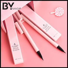 BY Eyeliner Pen Pencil, female brown waterproof, anti sweat, no coloring, no staining, durable, genuine, fake, color, color, beginners.