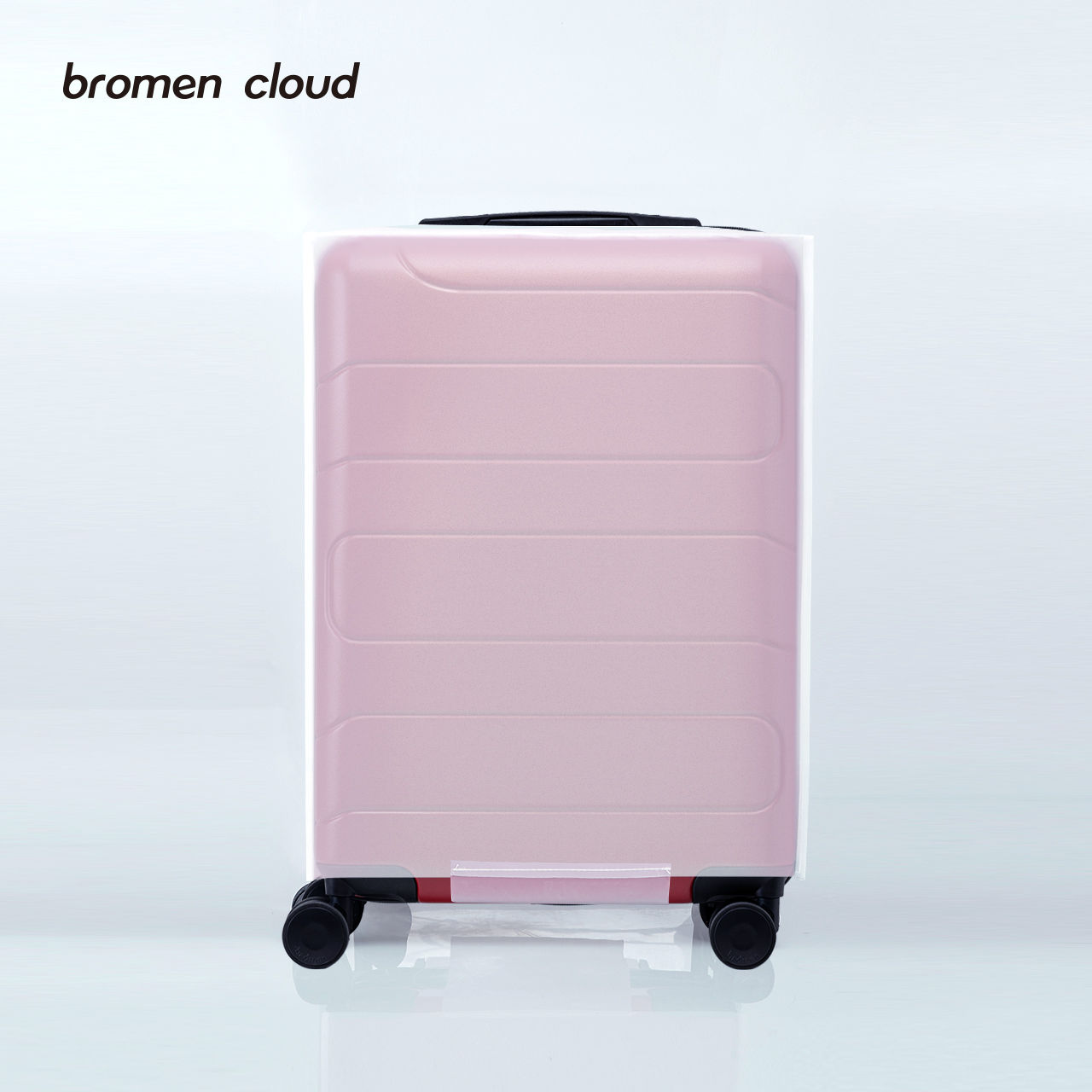 Luggage case protective sleeve 24 inch thick wear-resistant pull rod box dust cover 20 inch waterproof travel 28 inch transparent case cover