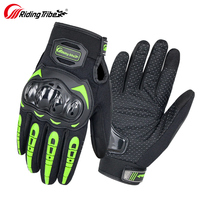 Motorcycle riding gloves Summer breathable touch screen anti-drop off-road vehicle racing motorcycle men and women knight equipment four seasons