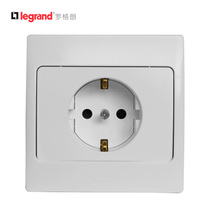 French L-Rogrom Mercure German Euro-standard socket Euro-German German wall power socket panel 86