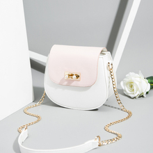 Summer bag ladies on the new Chao Korean version of the foreign chain single shoulder bag fashion straddle saddle bag