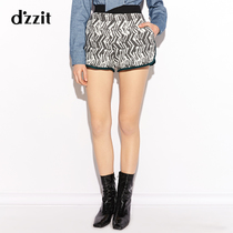 dzzit to the new sports and leisure zebra pattern was thin shorts hot pants 3a1q10915