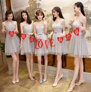 Bridesmaid Dresses special offer new autumn bridesmaids sister dress in the long section of Korean students party dress dress female