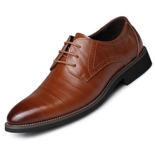 Men Leather Shoes Men Business Casual Dress Shoes men's business shoes