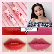 The Saem package stamp house fresh mousse candy lasting moisturizing lip gloss lip glaze with liquid lip biting