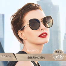 BOLON Tyrannosaurus Butterfly Polarizing Plate Metal Sunglasses Female Trend Star Sunglasses BL6038