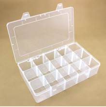 Mobile Phone Parts Receiving Box/Component Box Maintenance Tool Electronic 36-grid Multifunctional Separable Transparent Plastic Box