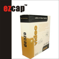 Ezcap USB Video Acquisition Card Box Apple Microsoft Dual System Video Recording Game Analog Recording