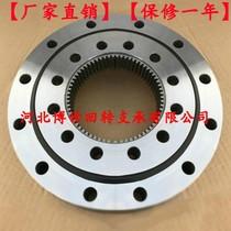Inner teeth large and small rotnd support bearing rot to support bearing turntable bearings with crane fog gun machine