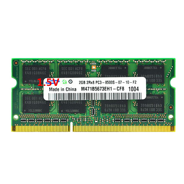 Samsung memory bar 2G DDR3 1066 2G notebook memory bar 2GB PC3 8500