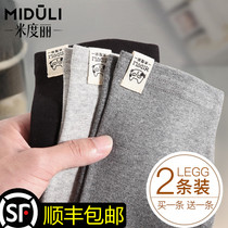 Pregnant women leggings maternity pants spring and autumn models wear fashion nine points trousers autumn and winter with velvet belly pants spring