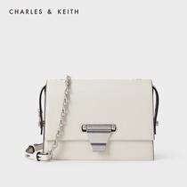 THE CHARLES-KEITH 2020 Fall New CK2-80270627 Womens Metal Buckle Flip Shoulder Bag
