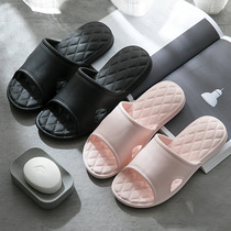 Soft and comfortable Japanese men and womens home non-slip silent silver ion couple multi-color optional lightweight non-slip slippers