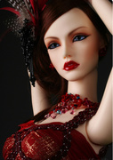 BJD SD 3 soom girl doll doll doll dia Rose Queen joint