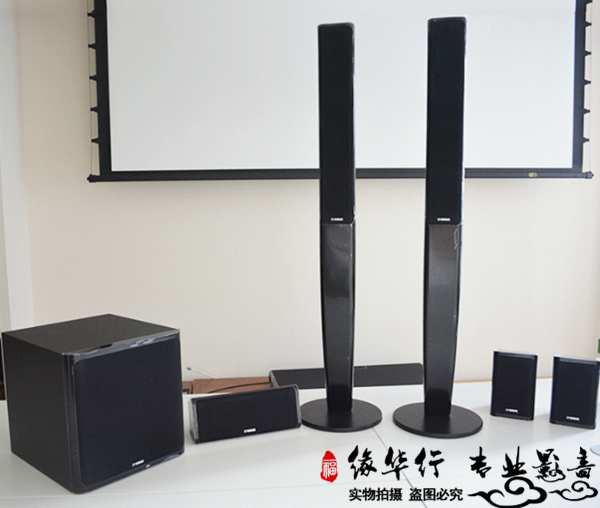 Yamaha/Yamaha NS-PA40 5.1-channel home theater audio suite column speaker surround center