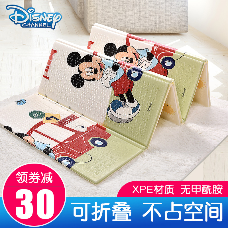 Disney Foldable Baby Crawler Pad Thickening Living Room Home Children's Pad XPE Baby Crawler Pad