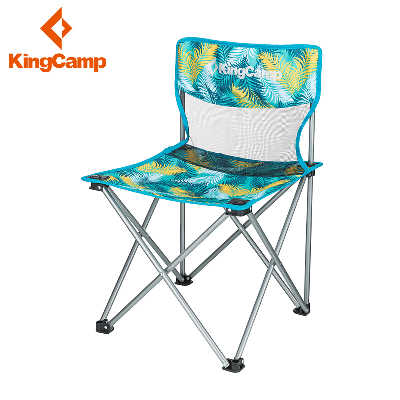KingCamp folding stool portable outdoor chair folding fishing stool Maza beach chair sketching chair director chair
