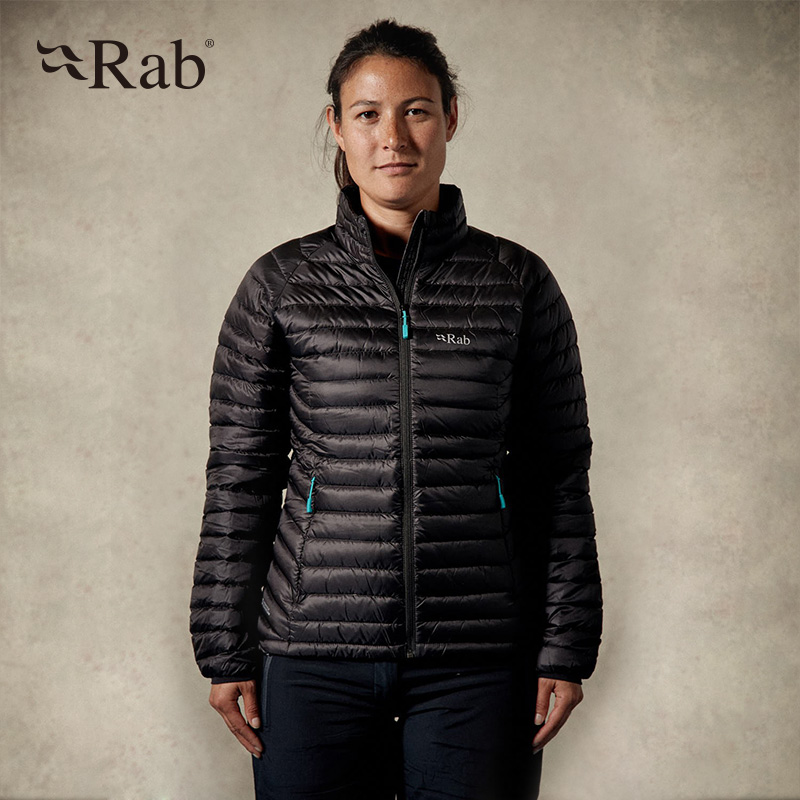 British brand RAB outdoor 750 tents of White Velvet women's warm down jacket chop shirt 345g QDA66 package mail