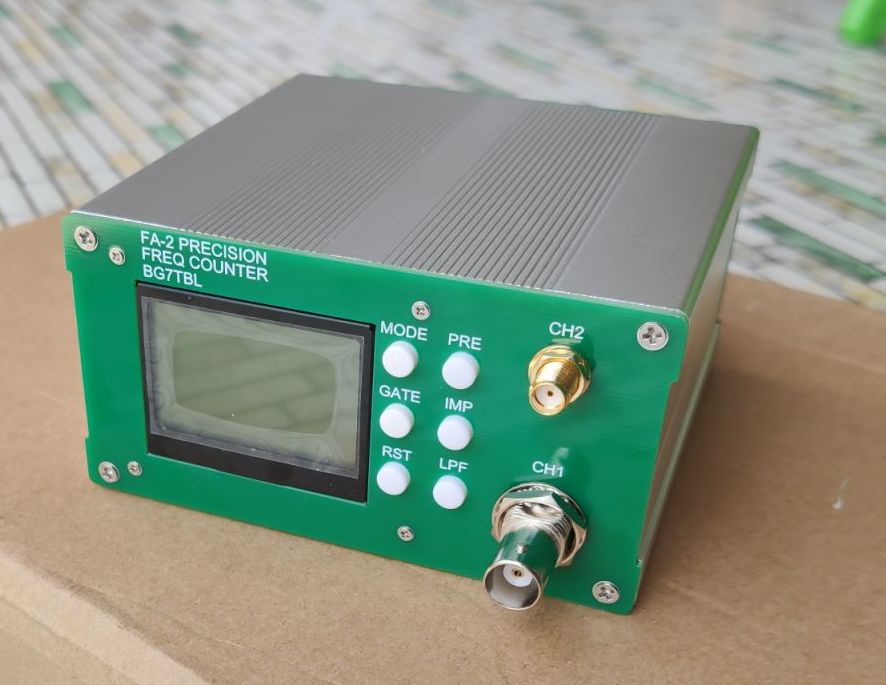 1Hz-6G12.4G26.5G11-bit second 53220 high-speed high-precision frequencyometer FA-2 PLUS