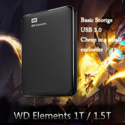 WD western data element 1T 1500G/1.5t 2.5 inch USB3.0 hard disk drive 1000G