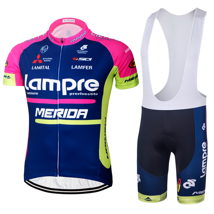 Special package 16 blue-wave pink cycling suit with short sleeves, bicycle jacket, shorts, road bicycle