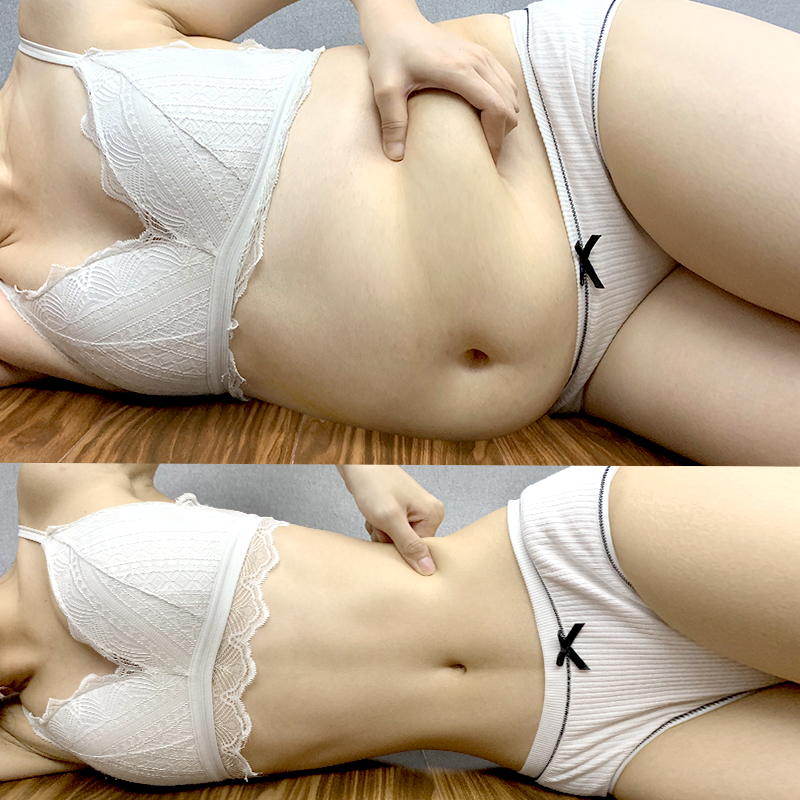 Have a small belly must use thin arms quickly thin big thick arms and legs to change the fat body lactation can be used