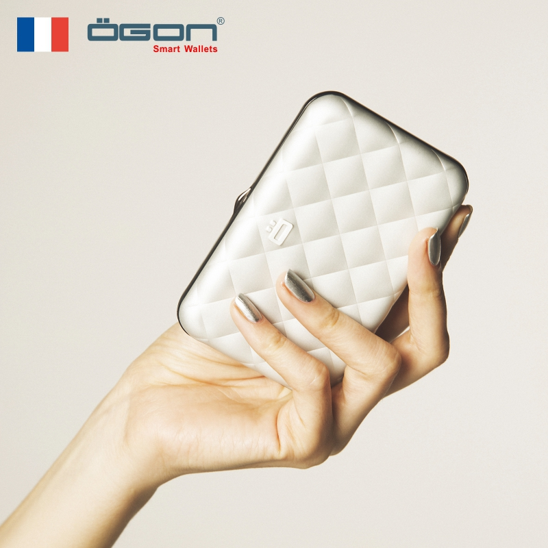 Ogon French imported fashion purse Ms. Lingkabao ultra-thin mini-refreshing Korean Simple Qiwei with the same style