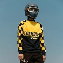 Fluor Garage scrambler summer sunscreen dryer VMX OFF-roader cools breathable long-sleeved T-shirt