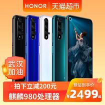 (拍立减200元)honor 荣耀20手机麒麟980处理器4800万广角四摄