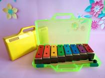 Beauté léducation zhongchen Orff musique enseignement sida percussion enfants de couleur unique 8 Son Son brique en aluminium piano son bloc